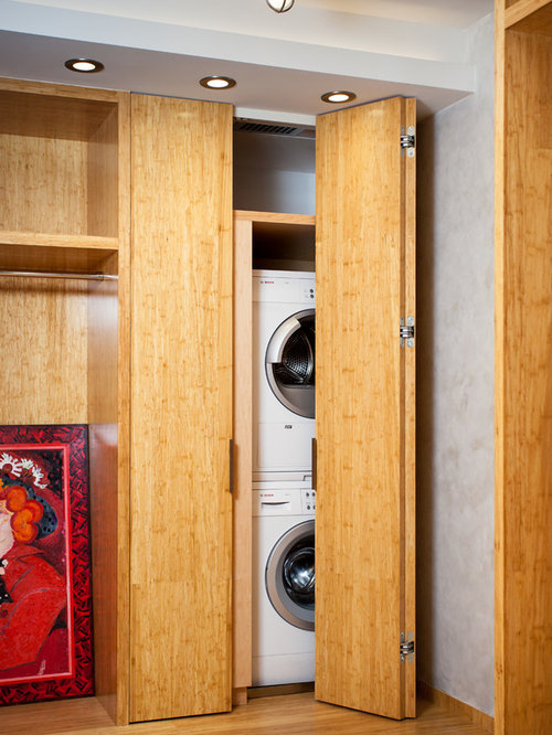Folding Doors For Laundry Room : Accordion doors laundry room design ideas remodels photos