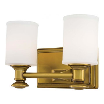 Bath Light Fixtures Bathroom Vanity Lights With A Gold Shade Houzz