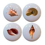 Beach Ceramic Cabinet Drawer Knob - Beach Style - Cabinet ...