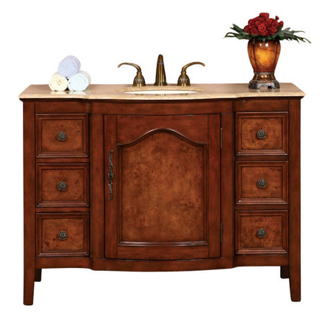 Stone Top or Baltic Brown Granite Stone Top included. Cabinet ...
