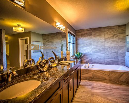 Edmonton bathroom design ideas renovations photos with for Kitchen cabinets 99 street edmonton