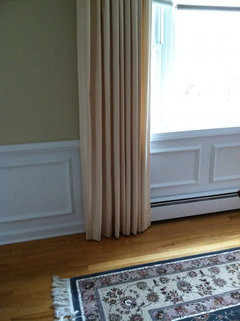 Drapery Length Over Hot Water Baseboard Heater