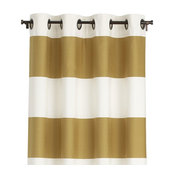 "Alston Ivory/Gold 50""x84"" Curtain Panel"