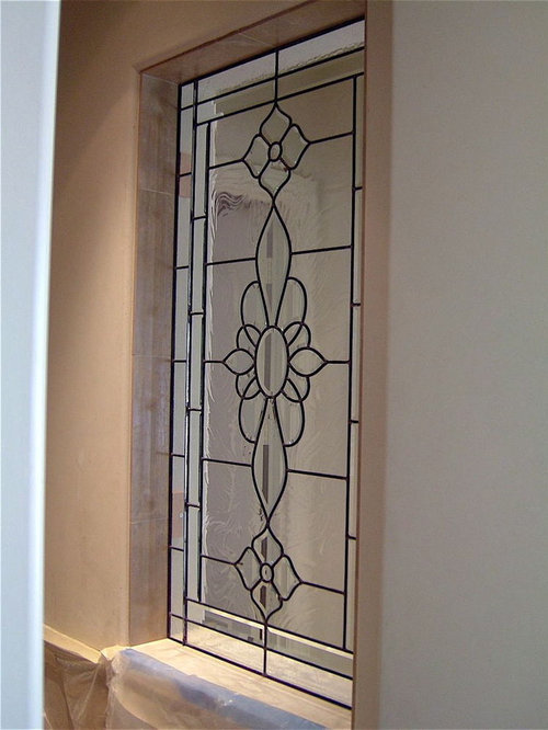 Bathroom windows frosted glass windows for Stained glass bathroom window designs