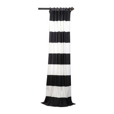 Black And White Curtains And Drapes Houzz