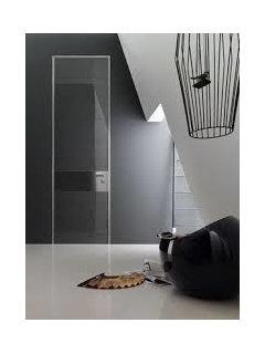 cacher une porte d 39 entr e. Black Bedroom Furniture Sets. Home Design Ideas