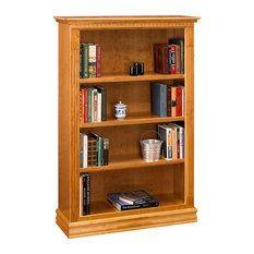 Bebe Furniture - Monticello Cherry Bookcase 36 x 48 - beautiful quality heirloom bookcases hand ...