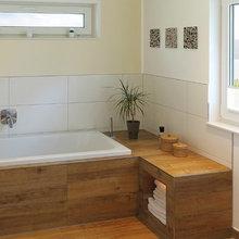 Trend Alert: Wood-Inspired Floors in the Bathroom!