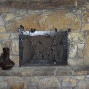 Oak Hill Iron Fire Accessories Iron Steel Copper