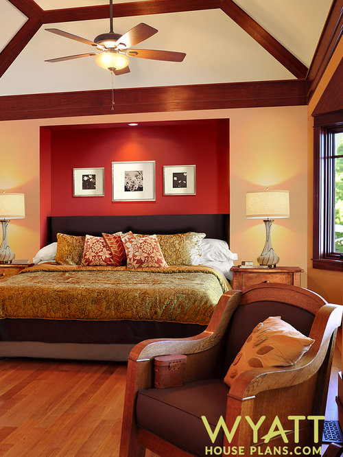 Craftsman style bedroom home design ideas pictures for Craftsman bedroom ideas