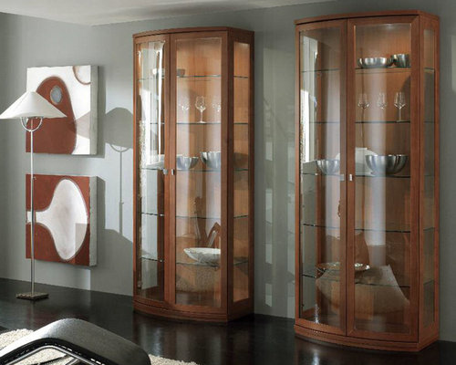 cristalliere moderne : ... Trend 217 by Artigian Mobili - $2,045.00 - Cristalliere e vetrinette