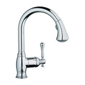 Grohe 33 870 000 Bridgeford Dual Spray Pull-Out Kitchen Faucet