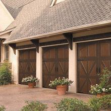 Steel Carriage House Garage Doors