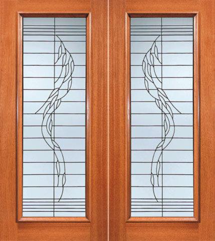 Beveled Glass Entry Doors