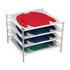 Beadboard Drying Rack Contemporary Drying Racks By