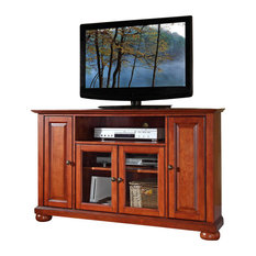 """Corner TV stand. This signature cabinet accommodates most 52""""Flat ..."""