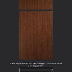 Modern Zebra Wood Veneer Kitchen Cabinetry Houzz