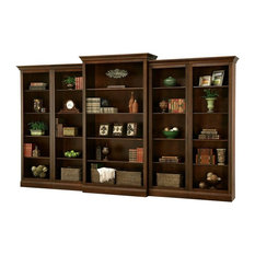 Howard Miller - Howard Miller Oxford Bookcase - Saratoga Cherry - HMI1330 - Durable solid wood ...