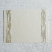 Cord Appliqué Placemat Set, Gold