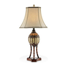 Tropical lamps find floor lamp and table lamp ideas online for Tropical floor lamp with table