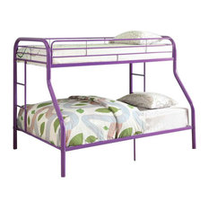 Tracy Green Finish Metal Twin Over Full Bunk Bed
