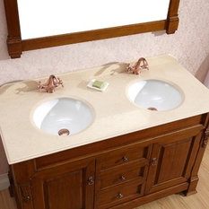 Excellent 1400mm Traditional Solid Timber Vanity  Traditional  Bathroom Vanity