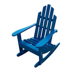 ... Leisure Design - Junior Rocking Chair, Berry Blue - Rocking Chairs