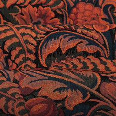 Rousseau French Upholstery Fabric In Exotique Rousseau