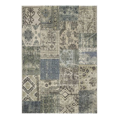 Nuloom Machine Made Moroccan Diamond Shag Rug Gray 6 7 X 9