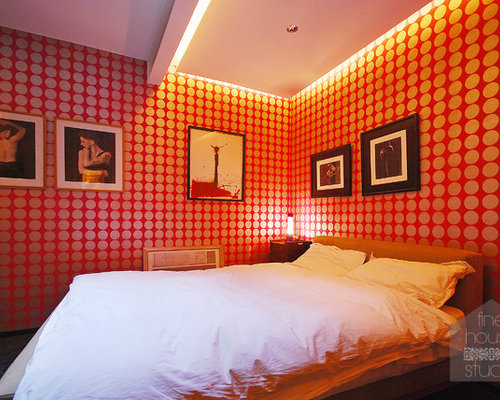 London bedroom design ideas renovations photos with red for Bedroom designs london