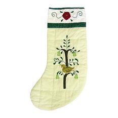 Farmhouse Christmas Stockings And Holders Houzz