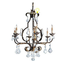 Rustic Crystal Chandeliers Houzz