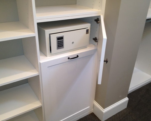 Hidden closet safe home design ideas pictures remodel for Walk in safes for homes