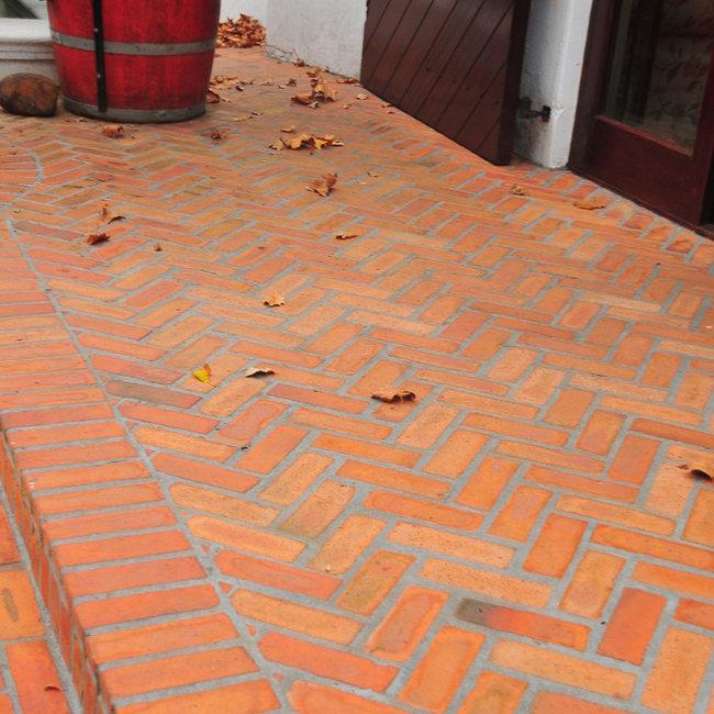 Terracotta ceramic tiles