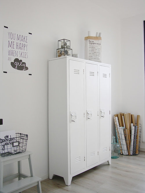 Old school locker home design ideas pictures remodel and for Decorative lockers for kids rooms