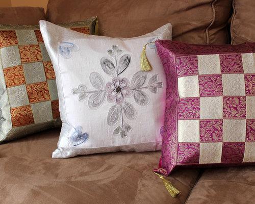Fun Decorative Pillow Combinations