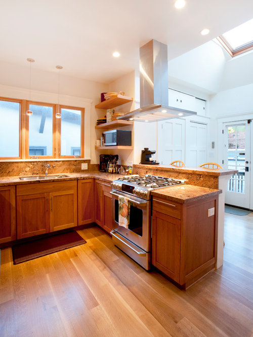 Small Craftsman Kitchen Home Design Ideas, Pictures