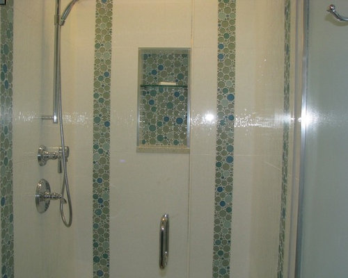 ... cabinets, blue cabinets, recycled glass countertops, blue tile, glass