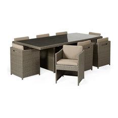 mobilier de jardin contemporain. Black Bedroom Furniture Sets. Home Design Ideas