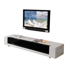 B-Modern - B-Modern Editor TV Stand, White - The Editor is the epitome of cutting-edge ...