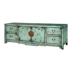 China Furniture and Arts - Elmwood Ming Media Cabinet - Breaking from ...