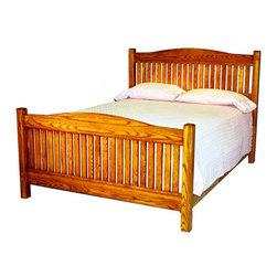 The Bedworks Of Maine Camden Platform Bed Frame Low Footboard King