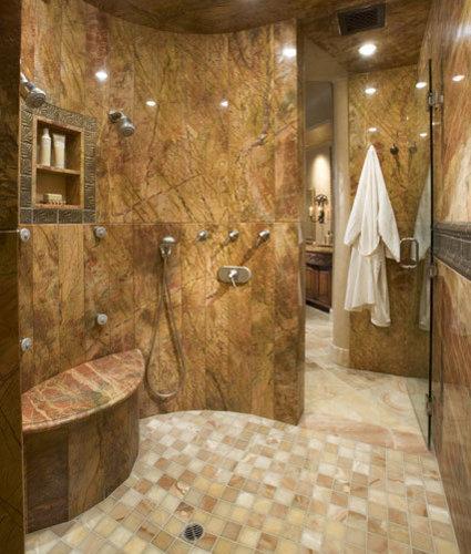Snail Shower Design Ideas