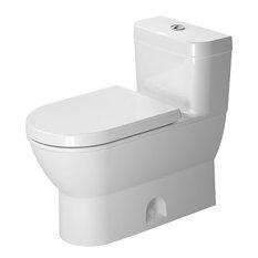 Duravit Darlig New Piece Elongated Front Toilet