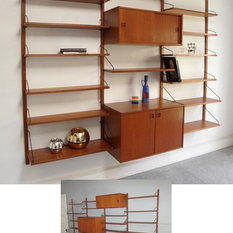 Midcentury Display and Wall Shelves   Houzz