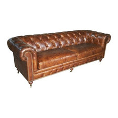 shop worn leather couch products on houzz
