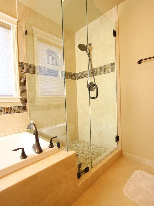 portland bathroom design ideas renovations photos with raised panel