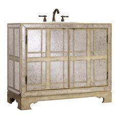 Mirrored Bathroom Vanities Houzz