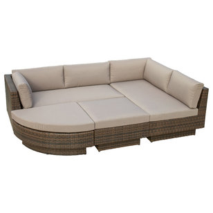 Contemporary Outdoor Sofas by Great Deal Furniture