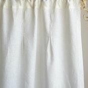 Eileen Fisher Pintucked Curtain Panels
